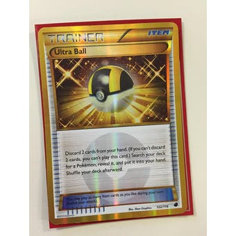 Pokemon Plasma Freeze Single Ultra Ball 122/116 - SLIGHT PLAY (SP)
