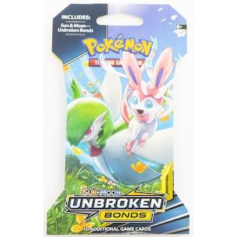 Pokemon Sun & Moon: Unbroken Bonds Sleeved Booster 36 Packs = 1 Booster Box