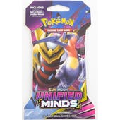 Pokemon Sun & Moon: Unified Minds Sleeved Booster 36 Packs = 1 Booster Box