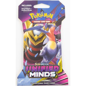 Pokemon Sun & Moon: Unified Minds Sleeved Booster Pack