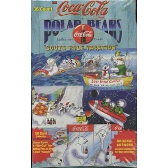 Coca-Cola Polar Bear Hobby Box (1996 Collect A Card) (Reed Buy)