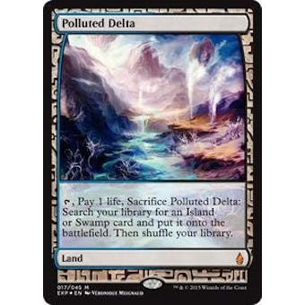 Magic the Gathering Zendikar Expedition Single Polluted Delta FOIL - NEAR MINT (NM)