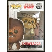 Star Wars Last Jedi Chewbacca Funko POP Autographed by Joonas Suotamo