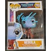 Marvel Guardians of the Galaxy Nebula Funko POP Autographed by Karen Gillan