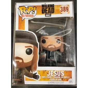AMC Walking Dead Jesus Funko POP Autographed by Tom Payne