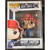 Marvel Agent Peggy Carter Funko POP Autographed by Haley Atwell