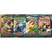 Pokemon EX Power Keepers 4 Booster Pack ART SET
