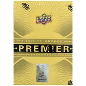 2017/18 Upper Deck Premier Hockey Hobby Box
