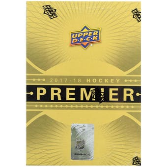 2017/18 Upper Deck Premier Hockey 10-Box Case- DACW Live 31 Team Random Team Break #8