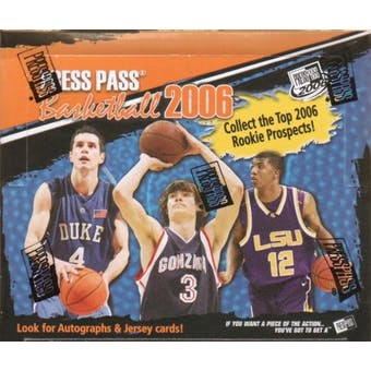 2006/07 Press Pass Basketball Hobby Box