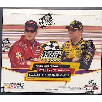2003 Press Pass Stealth Racing Hobby Box