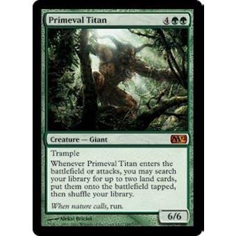 Magic the Gathering 2012 Single Primeval Titan - NEAR MINT (NM)