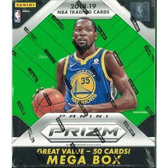 2018/19 Panini Prizm Basketball 50ct Mega Box