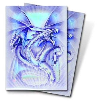 Ultra Pro Blue Diamond Dragon Standard Deck Protectors 50 Count Pack