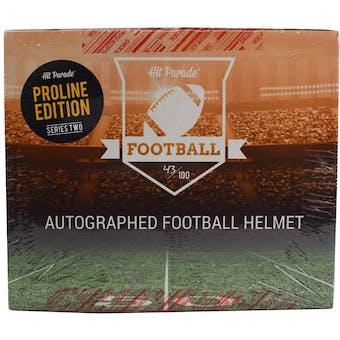 2019 Hit Parade Auto PROLINE Football Helmet 1-Box Ser 2 - DACW Live 8 Spot Random Division Break #3