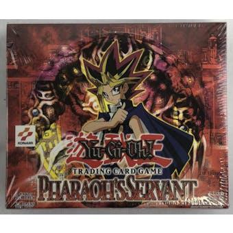 Upper Deck Yu-Gi-Oh Pharaoh's Servant 1st Edition Booster Box (24-Pack) PSV