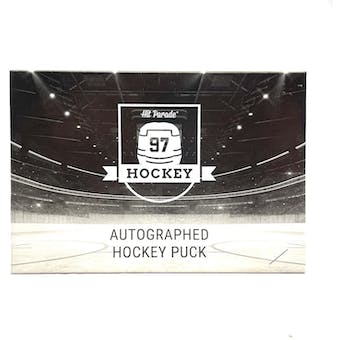2020/21 Hit Parade Autographed Hockey Puck - Series 2 - Hobby 10-Box Case Marner, Messier & MacKinnon!!