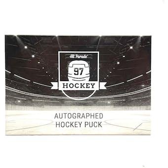 2020/21 Hit Parade Autographed Hockey Puck Series 8 Hobby 10-Box Case - Wayne Gretzky!!!!