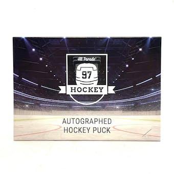 2020/21 Hit Parade Autographed Hockey Puck Series 5 Hobby 10-Box Case Gretzky & Lemieux!!!