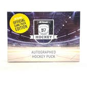 2020/21 Hit Parade Autographed Hockey Official Game Puck Edition Series 18 Hobby Box Matthews & Yzerman!!