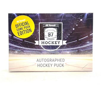 2020/21 Hit Parade Autographed Hockey Official Game Puck Edition Series 14 Hobby 10-Box Case Ovechkin!!