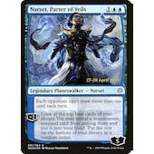 Magic the Gathering War of the Spark PRERELEASE Narset, Parter of Veils Foil NEAR MINT (NM)