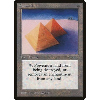 Magic the Gathering Arabian Nights Single Pyramids - SLIGHT PLAY minus (SP-)
