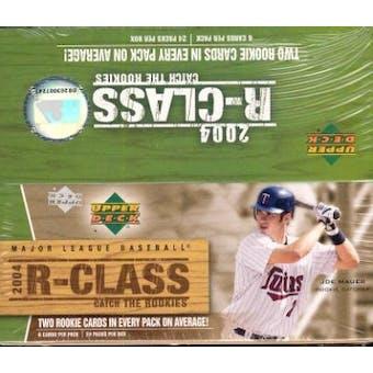 2004 Upper Deck R-Class Baseball Hobby Box