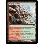 Magic the Gathering Worldwake Single Raging Ravine Foil - MODERATE PLAY (MP)