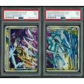 Pokemon Unleashed Raikou & Suicine LEGEND 92/95 & 93/95 Both Halves PSA 7