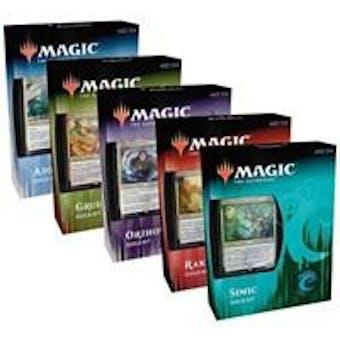 Magic the Gathering Ravnica Allegiance Guild Kit 5-Kit Display
