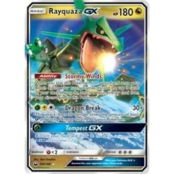 Pokemon Celestial Storm Single Rayquaza GX Ultra Rare 109/168 - NEAR MINT (NM)