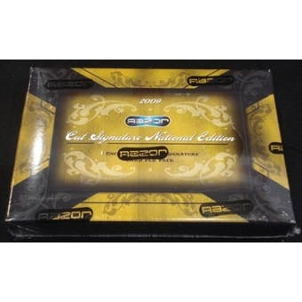 2009 Razor Cut Signature National Edition Hobby Box