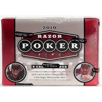 2010 Razor Poker Hobby Box