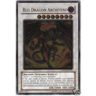 Yu-Gi-Oh Duelist Genesis Single Red Dragon Archfiend Ultimate Rare