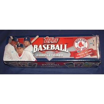 2005 Topps Factory Set Baseball (Box) (Boston Red Sox)
