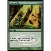 Magic the Gathering Promotional Single Regrowth Foil (DCI/Judge) - SLIGHT PLAY (SP)
