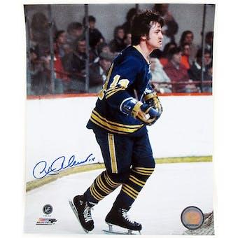 Rene Robert Autographed Buffalo Sabres 8x10 Throwback Hockey Photo