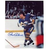 Rene Robert Autographed Buffalo Sabres 8x10 Shooting Hockey Photo