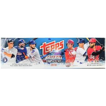 2018 Topps Factory Set Baseball (Box)