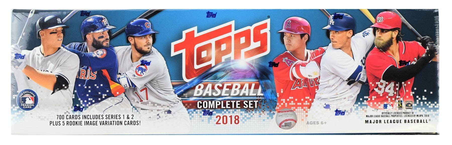 2018 Topps Factory Set Baseball Box