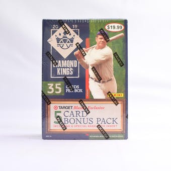 2019 Panini Diamond Kings Baseball 7-Pack Blaster Box (Lot of 5)