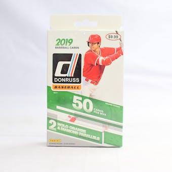 2019 Panini Donruss Baseball 50ct Hanger Box (Lot of 10)
