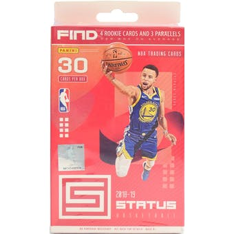 2018/19 Panini Status Basketball 30ct Hanger Box
