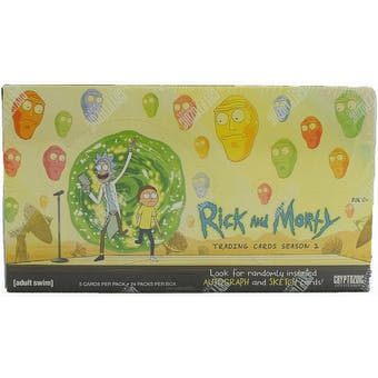 Rick and Morty Season 2 Trading Cards Box (Cryptozoic 2019)