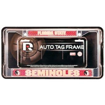 Rico Tag Florida State Seminoles Domed Chrome License Plate Frame