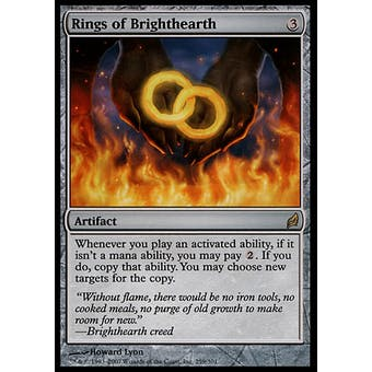 Magic the Gathering Lorwyn Single Rings of Brighthearth FOIL - NEAR MINT (NM)
