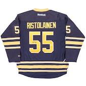Rasmus Ristolainen Autographed Buffalo Sabres XL Blue Hockey Jersey