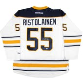 Rasmus Ristolainen Autographed Buffalo Sabres XL White Hockey Jersey