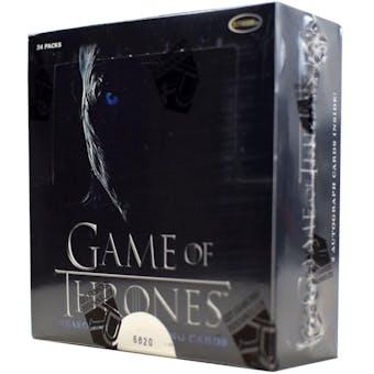 Game Of Thrones Season Seven 7 Trading Cards Box (Rittenhouse 2018)